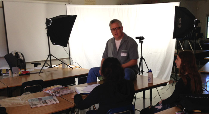 Movie Making Class - Broadway High School - 2014
