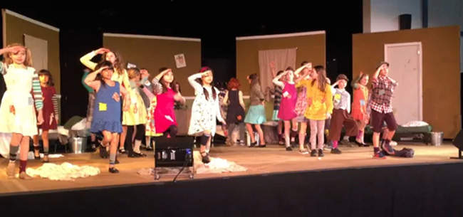 Annie Jr. by Audacity Performing Arts
